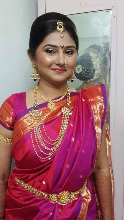 Indian Tradition - Nauvari saree