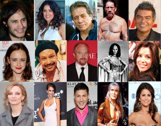 Mexican actors/actresses