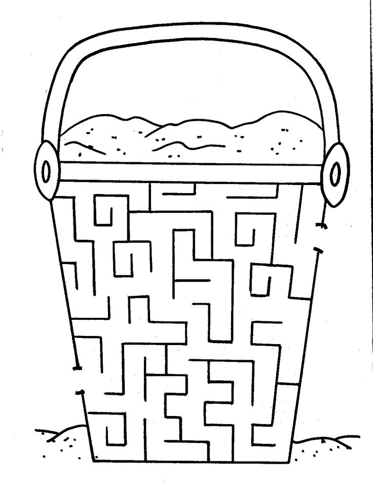 try your hand at our free printable mazes for kids - Childrens Printables