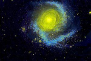 Galaxie und die Schule