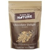 Back To Nature Granola Chocolate Delight, 12-Ounce Pouches (Pack of 6) (Grocery)By Back to Nature