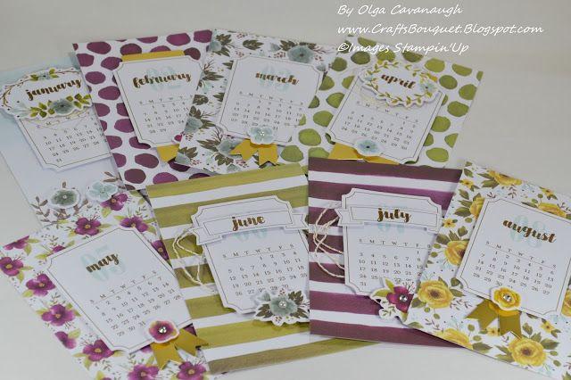 Paper Pumpkin One Great Year Calendar -December 2015 Kit