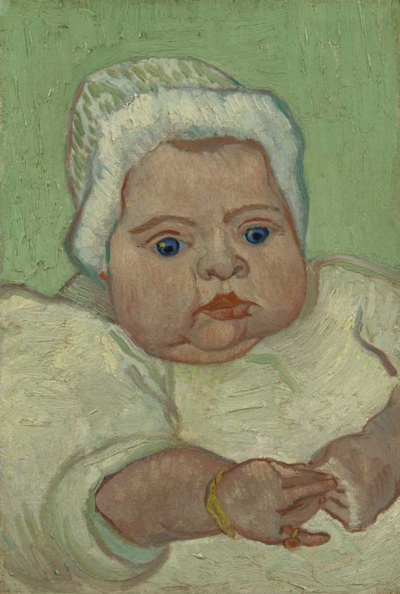 Only a few more days to visit the exhibition Van Gogh Repetitions at the Phillips Collection in Washington before it closes on 2 February. There are some works from our collection on display as well, like this one depicting a member of the Roulin family. More info: http://www.phillipscollection.org/exhibitions/2013-10-12-exhibition-van-gogh-repetitions.aspx  Image: Vincent van Gogh, Portrait of Marcelle Roulin, 1888, Van Gogh Museum, Amsterdam (Vincent van Gogh Foundation)