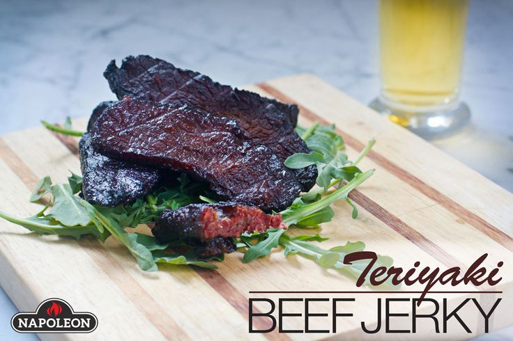 Make this Teriyaki Beef Jerky at home easily, for a flavorful, healthy snack that everyone will love.
