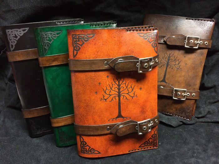 Lord of the Tings Tree of Gondor Leather Book Cover http://geekxgirls.com/article.php?ID=8616