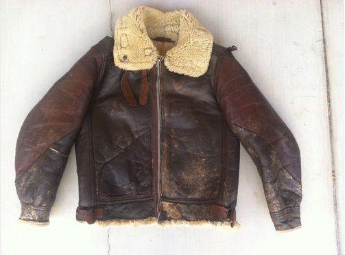 39 best WW2 Sheepskin bomber jackets images on Pinterest   Leather ...