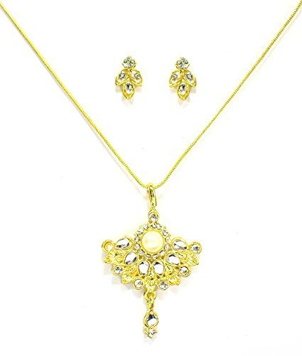 Indian Bollywood Gold Plated White Stone Valentine Gift P... https://www.amazon.com/dp/B01N6Z2MU7/ref=cm_sw_r_pi_dp_x_CieMybE0QX6WF
