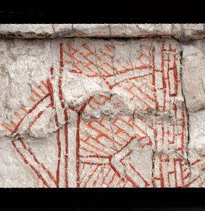 Çatalhöyük'te 9 bin yıllık resim