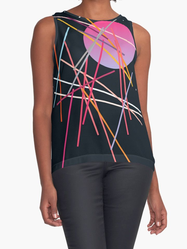 Geometric Space | Contrast Tank