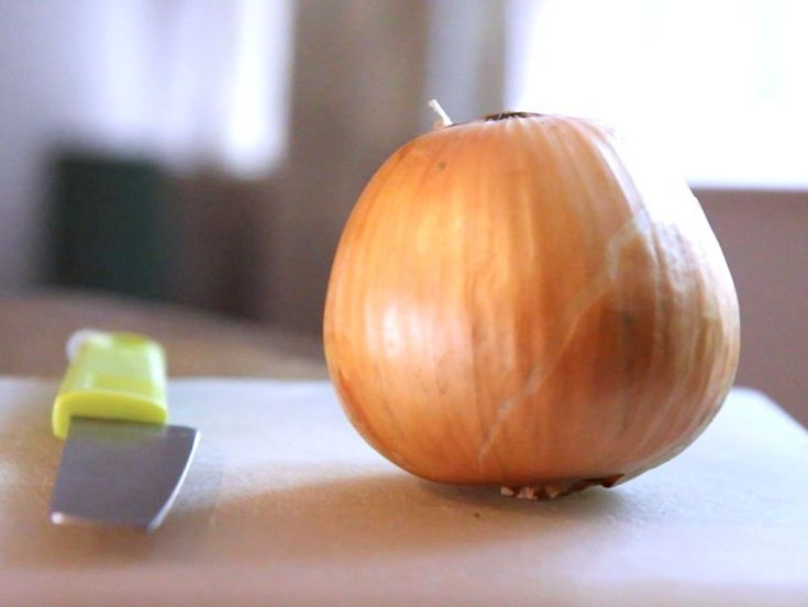 Use the entire onion in your soup or stock.