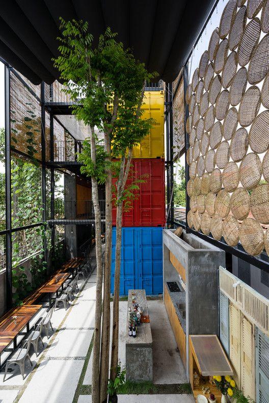 Ccasa Hostel / TAK architects | ArchDaily México
