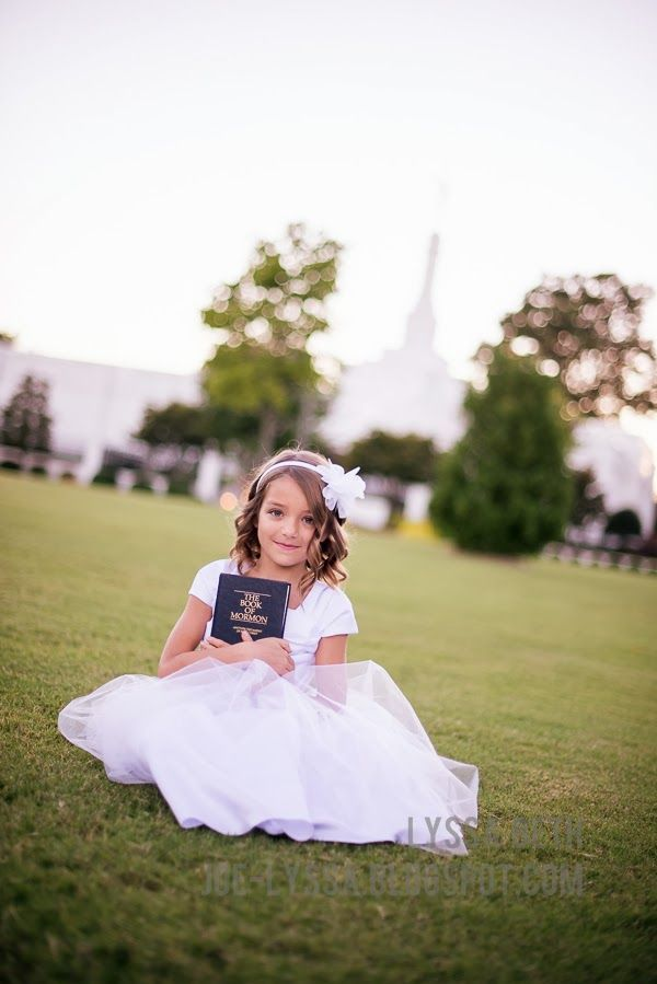Emma's Official Baptism Pictures