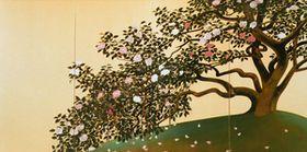 速水御舟(Gyoshū Hayami) photo 名樹散椿