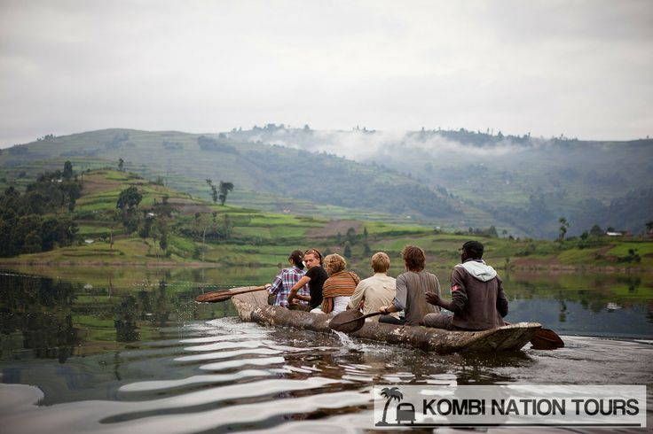 Day 2: A Postcard  View --- This morning you'll hike from Kabale town to Lake Bunyonyi to start your adventure. You'll visit a craft maker along the way before taking to the lake for the first time in dug out canoes. For more information on this trip you can find the full itinerary on www.kombitours.com or contact us on info@kombitours.com or +256 792 933 773. Image Credit: Georg Schaumberger, Gorilla Highlands.