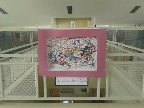 This artwork is suitable for the younger kids Inspired by Jason Pollack.