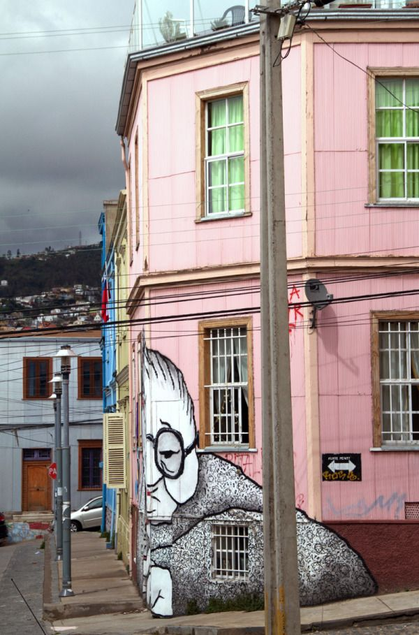 Valparaiso Street Art au Chili