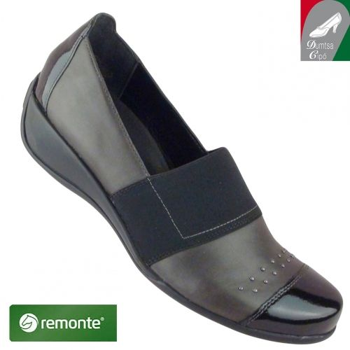Remonte női bőr cipő R9821-45 barna kombi - Zárt női félcipők: - Őszi-téli női cipők, csizmák: - Rieker cipő webáruház, Marco Tozzi webáruház, Jana cipő webáruház, Tamaris, Ara - Dumtsa Cipő