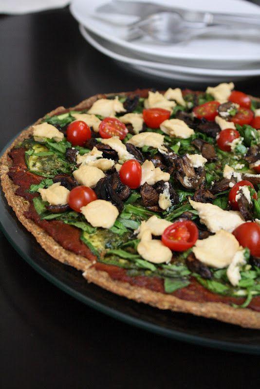 Raw Pizza Pizza   Sweetly Raw vegan