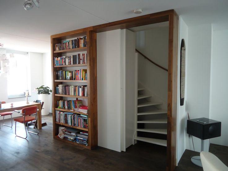 Meer dan 1000 idee n over open trap op pinterest kelder trap trappen en trap leuning - Redo houten trap ...