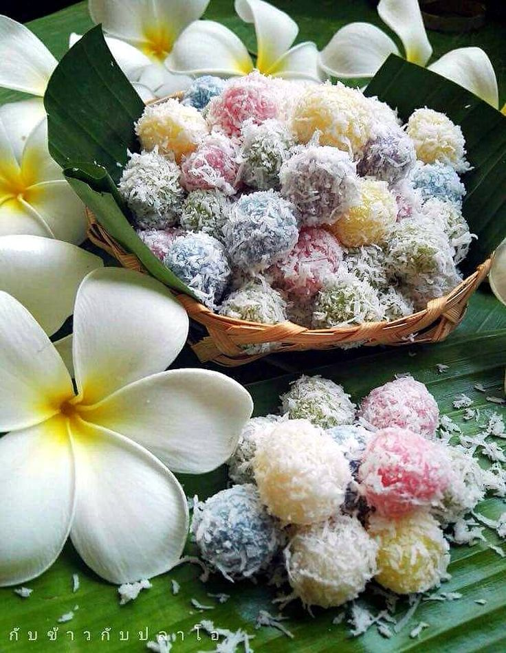 Melon Balls In Coconut Thai Style