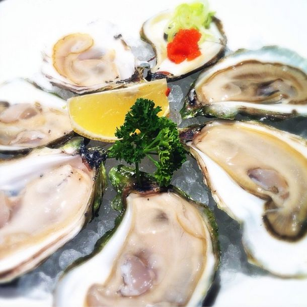We love to see our fans enjoying PEI Flavours in other parts of Canada. This shot of Colville Bay Oysters was taken by Adrian J.K. Shum at Yujiro Japanese Restaurant - 1822 Grant Avenue in Winnipeg.