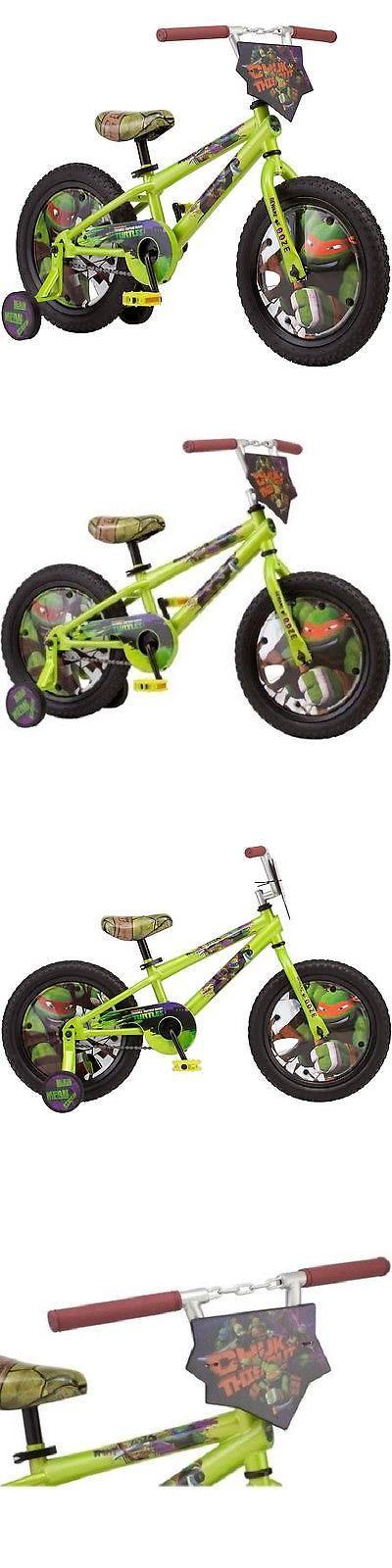 Training Wheels 177839: 16 Boys Tmnt Teenage Mutant Ninja Turtles Bike W/ Training Wheels Ship Free -> BUY IT NOW ONLY: $92.75 on eBay!