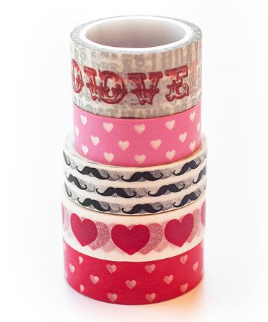 Look what I found on #zulily! All You Need is Love Washi Tape Set by Two Berry Creative #zulilyfinds