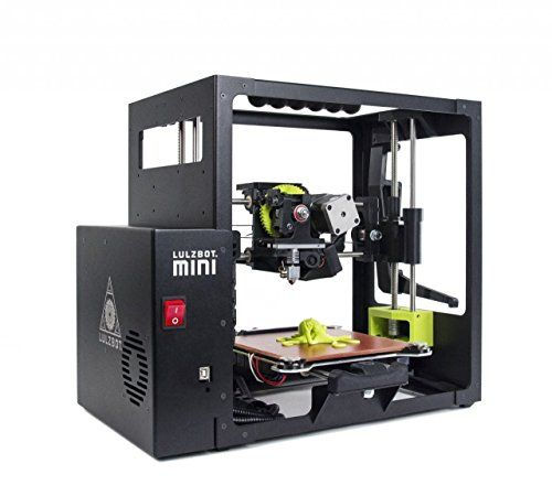 "LulzBot Mini Desktop 3D Printer - The LulzBot Mini is a high performance desktop 3D printer engineered to be easy to use. Even better, the LulzBot Mini is Open Source Hardware, certified by the Free Software Foundation for respecting your freedom. Critics are raving too: PC Magazine gave the Mini their first ever ""Editor's Choice"" award for mid-range 3D printers. Computer World exclaimed, ""Any serious maker should consider this machine because of its flexibility, accuracy and speed."""