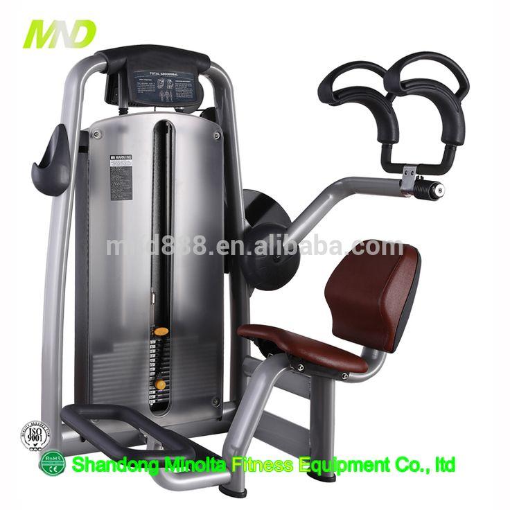 Gymnasium Equipment Commercial Fitness Machine Hammer Strength Fitness Equipment Commercial Exercise Abdominal Crunch