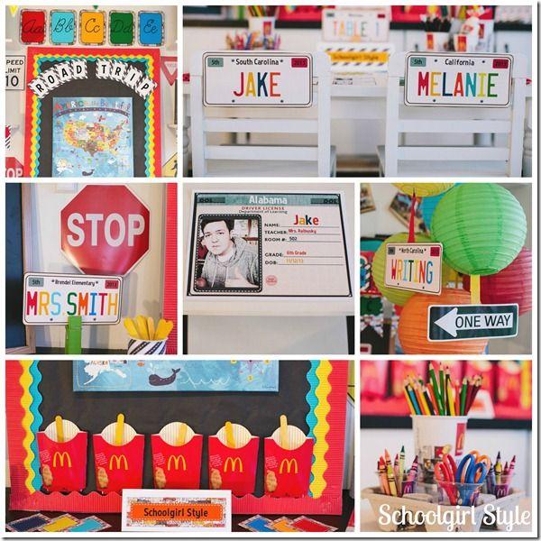 Classroom Decor Usa ~ Best ideas about road trip theme on pinterest