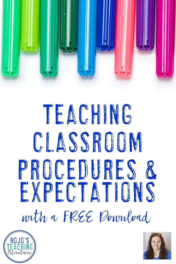 Learn new teaching classroom procedures & expectations with this informative post on my blog with a FREE download! It covers classroom set up, the first days of the school year, your first classroom assessment, having patience especially if students forget things, refreshers for when they do & how to prevent problems in the first place. Learn how to teach, review, enforce & assess classroom procedures! Use these helpful tools in a classroom. Make sure to grab the FREEBIE!