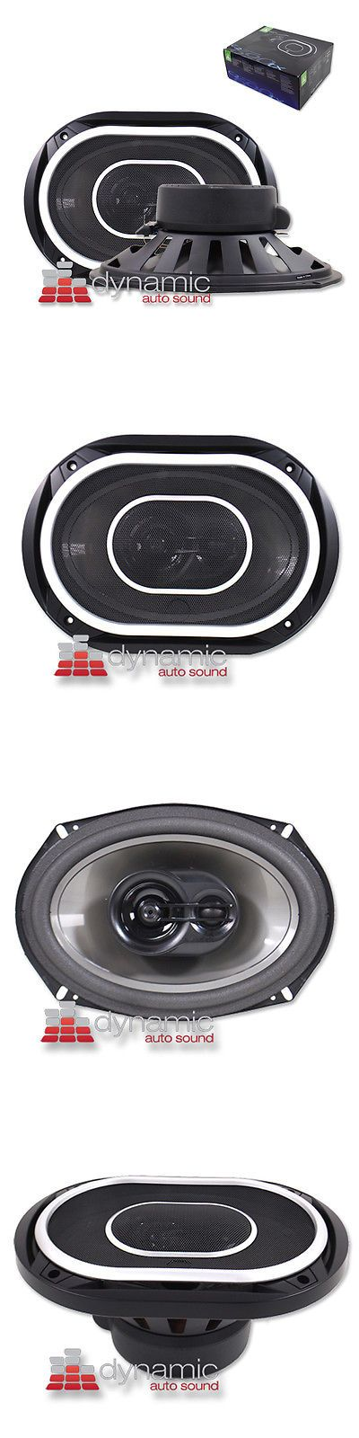 "Car Speakers and Speaker Systems: Jl Audio C2-690Tx 6""X9"" Car Stereo Speakers 225W 3-Way Coaxial C2690tx C2 New BUY IT NOW ONLY: $139.95"