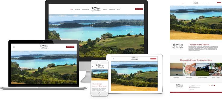 Forge Online creates yet another stunning example of contemporary and functionally powerful Open Source website design for Te Whau Lodge.