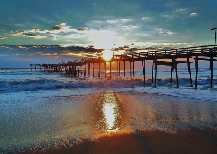 Avon Pier In The Outer Banks Of Nc Cool Ass Photos Pinterest The O Jays The Outer Banks