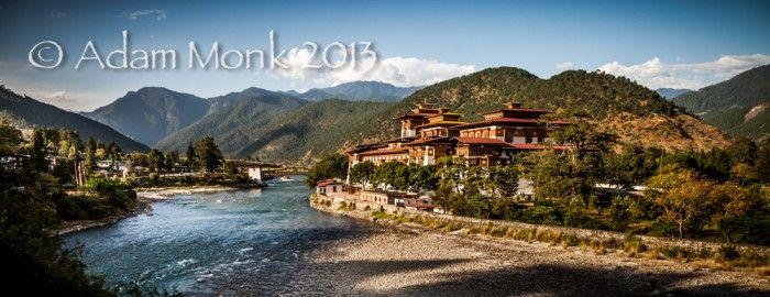 Punakha Dzong. Photo tour of Bhutan with Adam Monk 2013