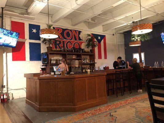 Ron Rico Puerto Rican Restaurant Dinner Kansas City