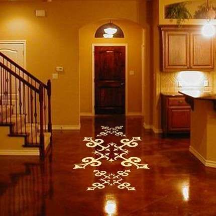 Spanish home floor tiles design favorite places spaces - Spanish floor tile designs ...