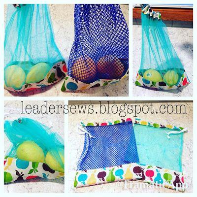 Leader Sews : DIY Produce Bag (full tutorial)