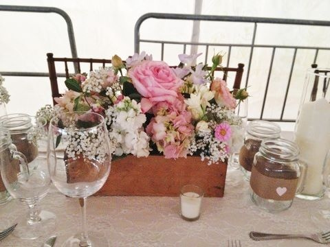 Shabby Chic Wedding Flowers By Flower For Special Occasions Omaha NE