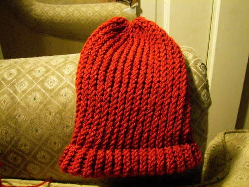 Knitting A Hat On A Round Loom : Make a hat on circular loom i love and knitting