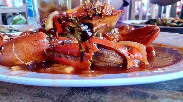 Mr. Crab😯 matilah saya gagal cantik😢😥 ginian mulu makannya😭🙀 #crab #foodporn #delicious #kampoengkepiting #mangrove #wisatamangrove #jelajahnegeri #wisatakuliner #indotravellers #balinesia #vacationinbali #cumaindonesia  Yummery - best recipes. Follow Us! #foodporn
