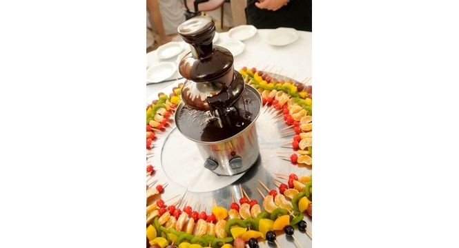 Chocolate fountain recipes, even some healthy options