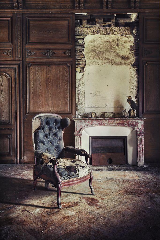 Abandoned chateau.