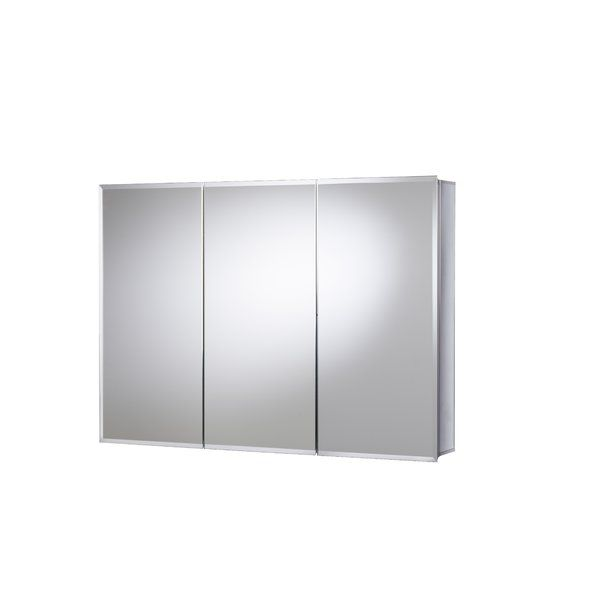 36 X 26 Recessed Or Surface Mount Frameless Medicine Cabinet With 9 Adjustable Shelves Medicine Cabinet Mirror Adjustable Shelving Recessed Medicine Cabinet