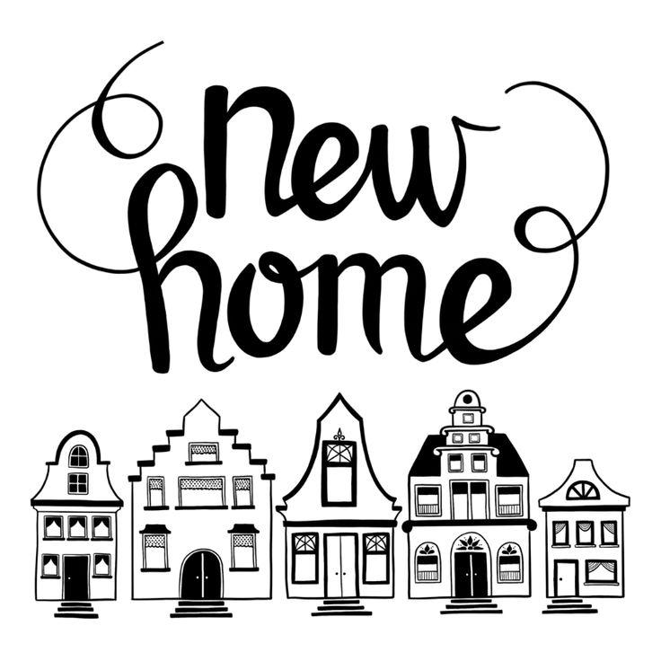 13 best felicitatie nieuw huis images on pinterest new homes about heart and cards - Nieuw huis ...