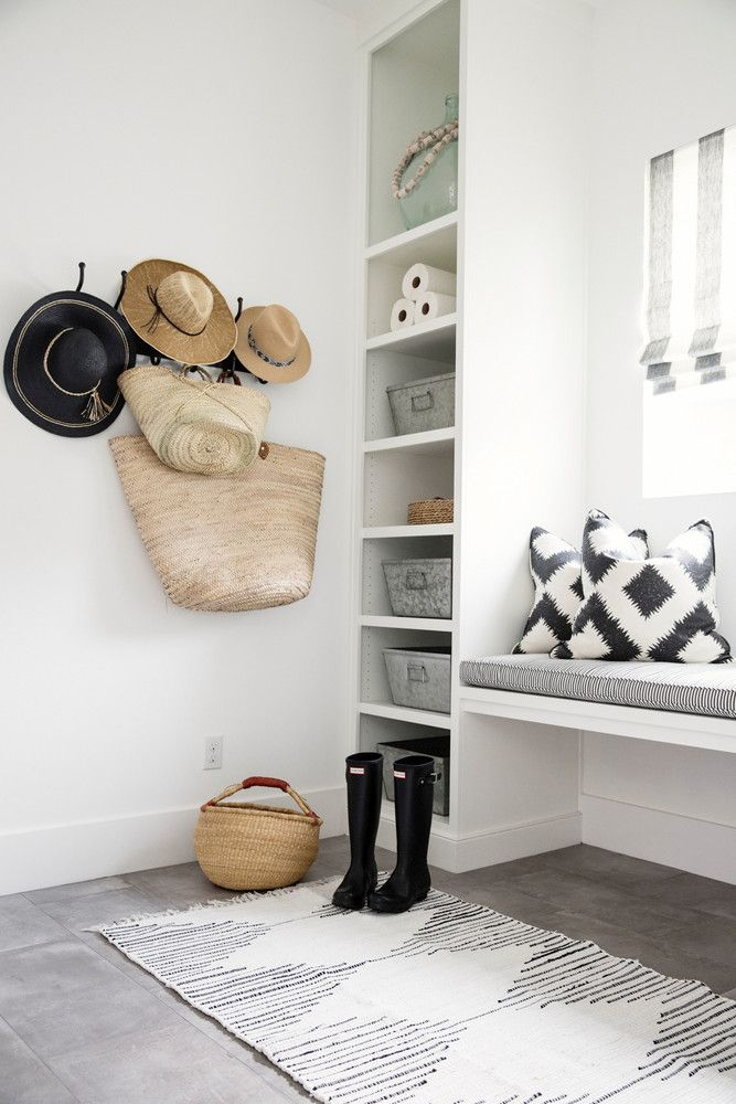 stylish + functional entryway