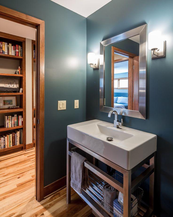 Die besten 17 Ideen zu Slate Blue Walls auf Pinterest Dunkle - vorhänge für badezimmer