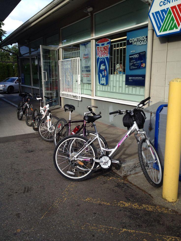 Biking Fort Langley