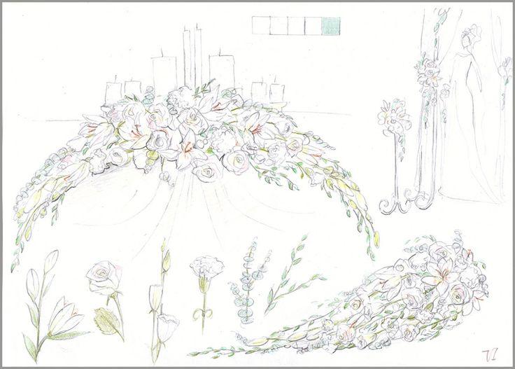 Свадьбы всех цветов радуги - цвета для оформления