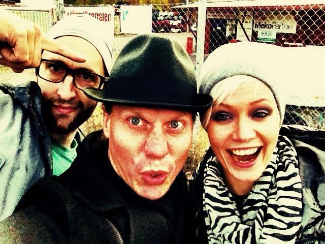 """Flow"" - Phil, Mattias & Petra"